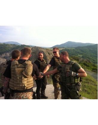 10 дней наработки защиты в ближнем бою | Siras Academy - Силькеборг, Дания