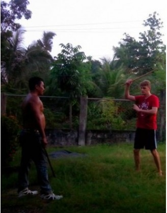 1 Month Eskrima Arnis Training in Cebu, Philippines