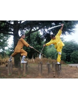 3 месяца интенсивных тренировок Shaolin Kung Fu | Академия Jiang Taigong - Шаньдун, Китай