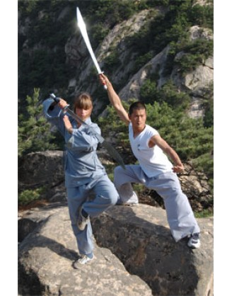 2 недели занятий Kung Fu | Qufu Shaolin School - Шаньдун, Китай