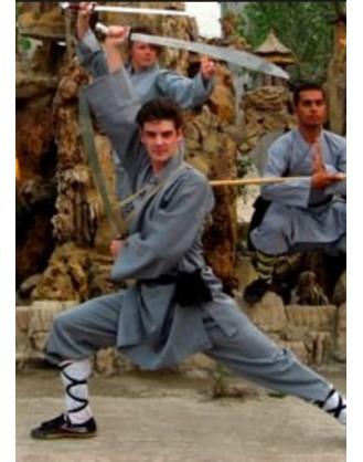 3 месяца продвинутого уровня Кунгфу | Qufu Shaolin School - Шаньдун, Китай