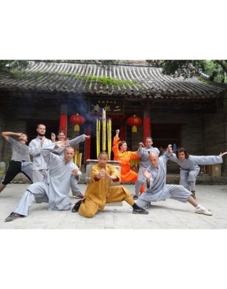 3 Months Shaolin Kung Fu Holiday Training in China