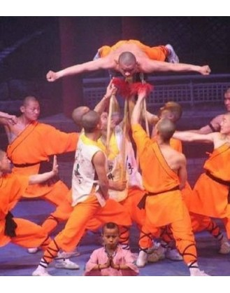 6 месяцев зучения боевого мастерства   Горный шаолиньский монастырь Тайзу - Хэбэй, Китай