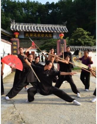 "Год Кунг фу по программе ""Всё включено"" |  Удан Дао школа боевых искусств - Хубэй, Китай"