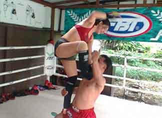 Школа тайского бокса и зал в Бангкоке
