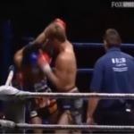 тайский бокс локти нокаут