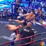 чемпион Кыргистана по тайскому боксу