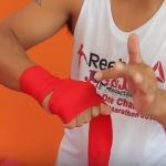 как обматывать руки для тайского бокса