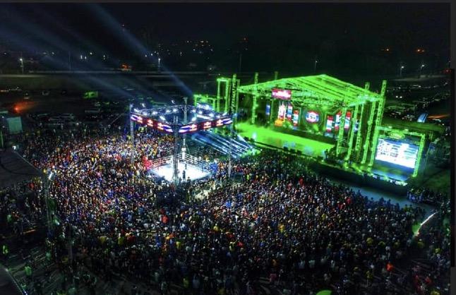 Muay Thai Expo in Buriram
