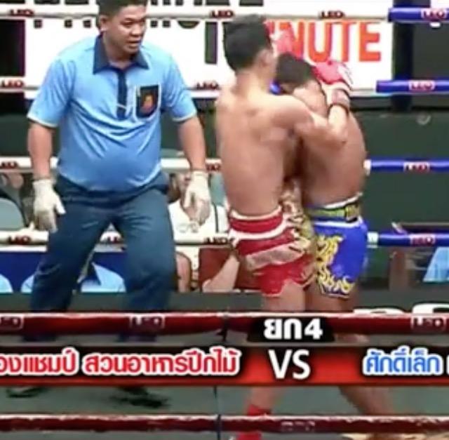 тип удар ногой в тайском боксе