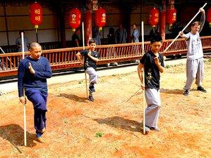 школы кунг фу в китае